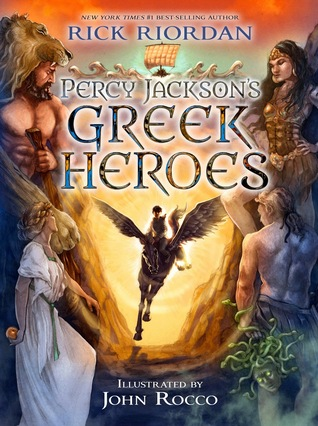 cover Percy Jackson's Greek Heroes