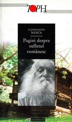 Pagini despre sufletul românesc  by  Constantin Noica