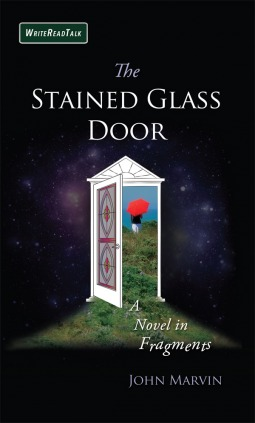 book review stained glass door john marvin