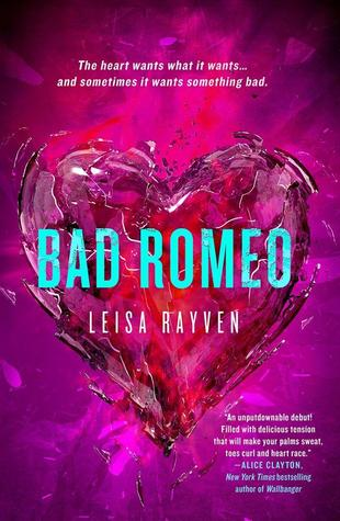 https://www.goodreads.com/book/show/21411058-bad-romeo