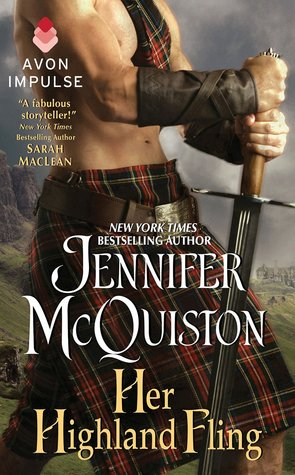 Her Highland Fling (Second Sons, #2.5)