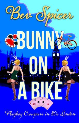 bunny on a bike by Bev Spicer