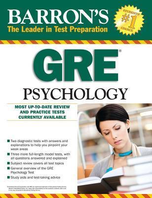 Barrons GRE Psychology, 7th Edition  by  Edward L. Palmer