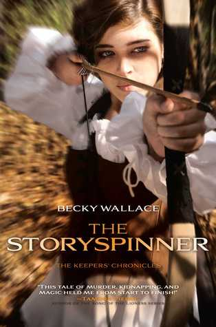 Kiss, Marry, Kill + Be, Room, Cliff with Becky Wallace, Author of THE STORYSPINNER (and a Giveaway!!)
