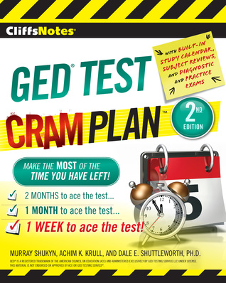 CliffsNotes GED TEST Cram Plan Second Edition  by  Murray Shukyn