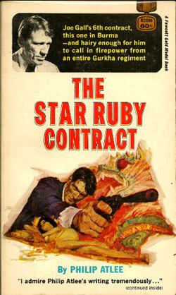 The Star Ruby Contract (Joe Gall Mystery, #6)  by  Philip Atlee