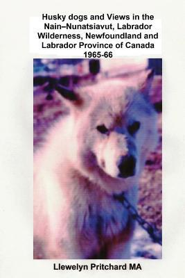 Husky Dogs and Views in the Nain - Nunatsiavut, Labrador Wilderness, Newfoundland and Labrador Province of Canada 1965-66: Cover Photograph: Husky Dog Llewelyn Pritchard