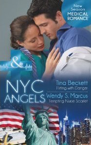 Medical Duo: NYC Angels: Flirting With Danger / Tempting Nurse Scarlet Tina Beckett