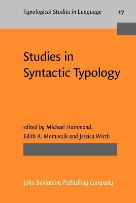 Studies In Syntactic Typology Michael Hammond