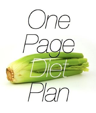 One Page Diet Plan  by  R. Galli