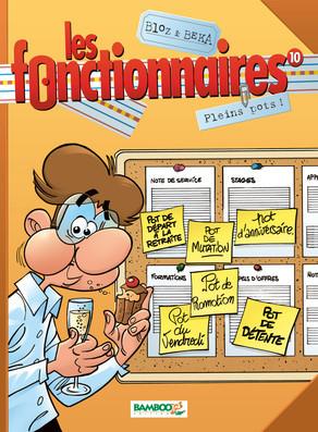 Pleins pots (Les Fonctionnaires, #10)  by  Bloz
