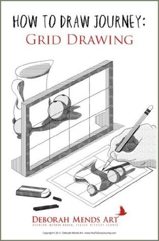 Grid Drawing  by  Deborah Mends