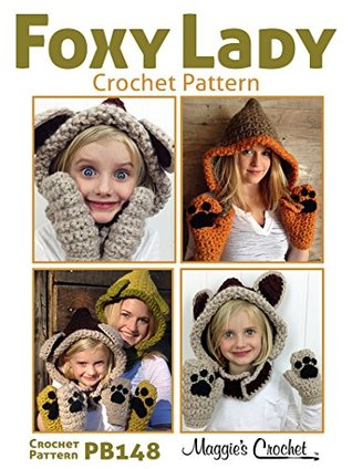 Crochet Pattern Foxy Lady Set PB148 Maggie Weldon