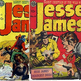 Jesse James Bandit Chieftan of the Wild West Issues 3 and 4 (Golden age Comics Book 20) Golden Age Wild West Comics