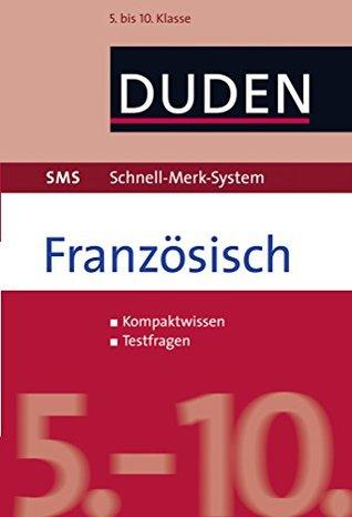 SMS Französisch - 5.-10. Klasse Claudia Fahlbusch