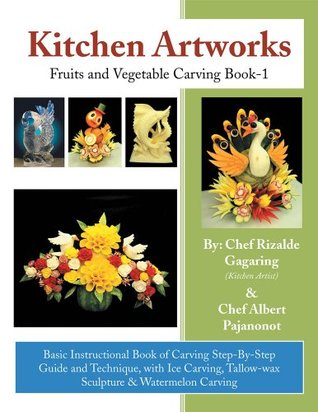 Kitchen Artworks: Fruits and Vegetable Carving Book-1 Albert Pajanonot