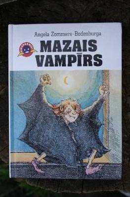 Mazais vampīrs  by  Angela Zommere-Bodenburga