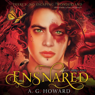 Audiobook Review: Ensnared by A.G. Howard
