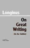 On Great Writing (On the Sublime)