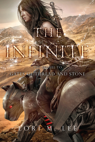 The Infinite by Lori M. Lee book cover