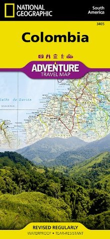 Colombia (National Geographic: Adventure Map)  by  National Geographic Society