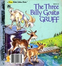 three billy goats gruff sequence pictures