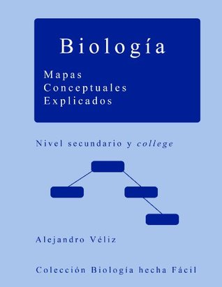 Biología. Mapas Conceptuales Explicados Alejandro Véliz Jélvez