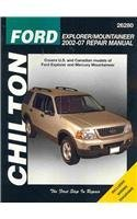 Ford Explorer/Mountaineer 2002 - 2007 Repair Manual Chilton Automotive Books
