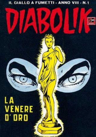 DIABOLIK (129): La Venere doro Angela Giussani