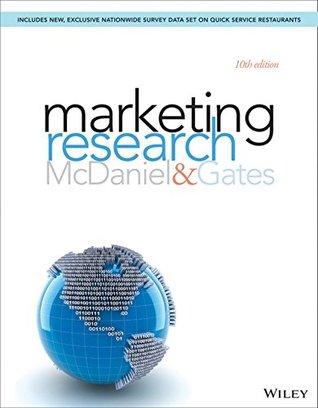 Marketing Research, 10th Edition Carl McDaniel Jr.