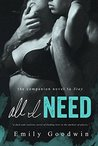 All I Need (Stay, #2)