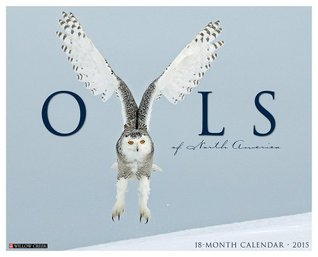 Owls of North America 2015 Wall Calendar  by  NOT A BOOK