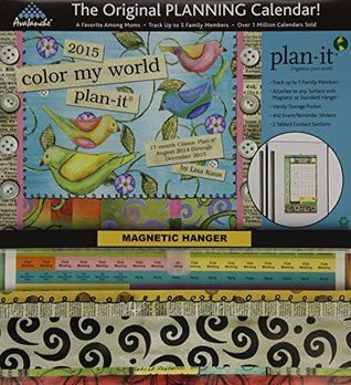 Perfect Timing - Avalanche Color My World 2015 Plan-It  by  Lisa Kaus, August 2014 - December 2015, 11 x 24 inches (7009136) by Avalanche