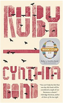 Ruby by cynthia bond book cover