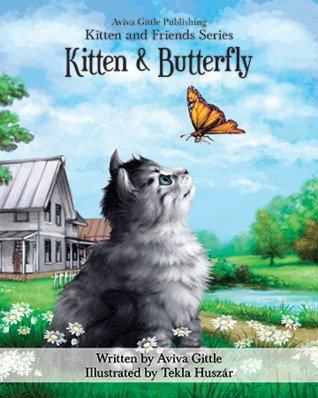 Kitten & Butterfly by Aviva Gittle