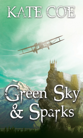 Green Sky and Sparks by Kate Coe