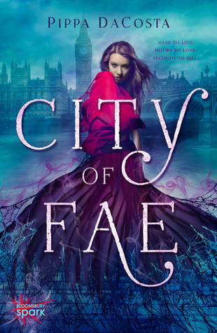 City of Fae by Pippa DaCosta book cover