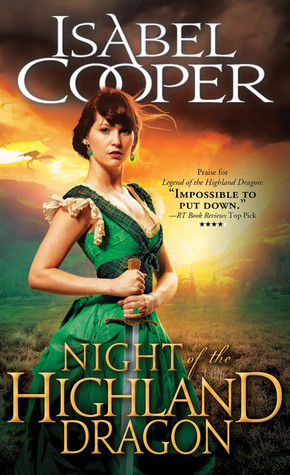 Release Day Review, Spotlight and Giveaway: Night of the Highland Dragon by Isabel Cooper