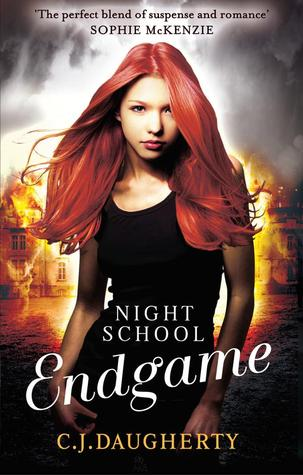 Endgame by C.J. Daugherty book cover