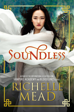Soundless by Richelle Mead book cover