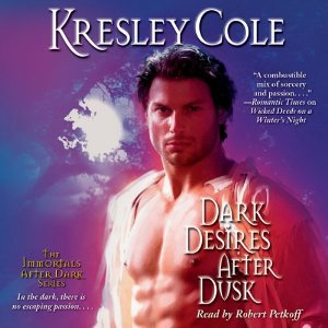 Audiobook Review: Dark Desires After Dusk by Kresley Cole