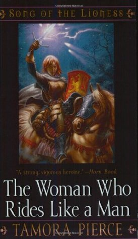 Book Review: Tamora Pierce's Woman Who Rides Like a Man