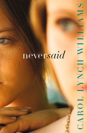 never said carol lynch williams book cover