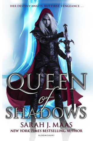 Queen of Shadows by Sarah J. Maas book cover