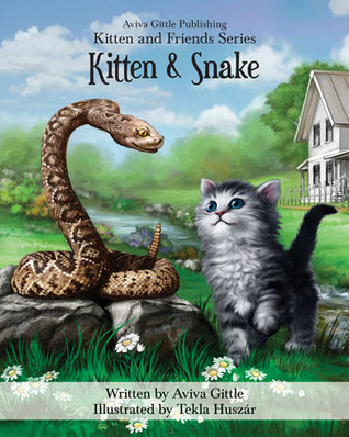 Kitten & Snake by Aviva Gittle