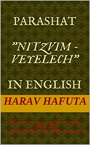 Parashat Nitzvim - Veyelech In English: Royal vision on the weekly Parasha - The Path to the Redemption (Devarim Book 4)  by  Harav Hafuta