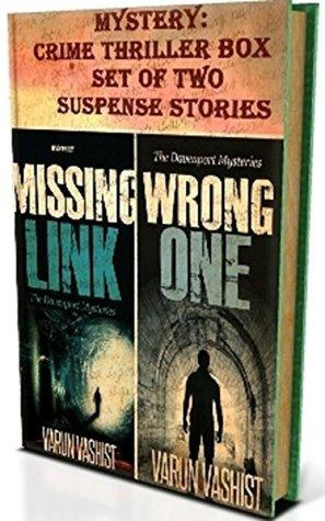 Mystery: Crime Thriller Box Set of Two Suspense Stories (Suspense novel series of adventure mystery books and Crime mystery thrillers) Varun Vashist