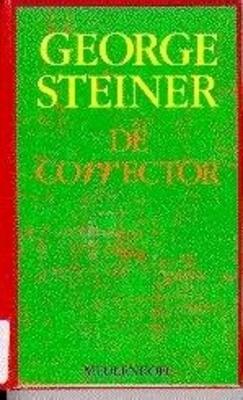 De corrector  by  George Steiner