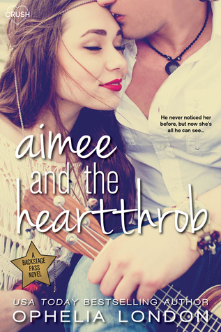 Blog Tour: Aimee and the Heartthrob by Ophelia London {Review & Giveaway}