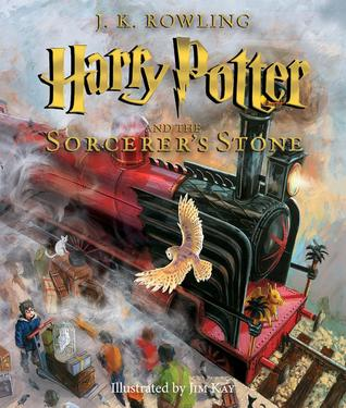 Harry Potter and the Sorcerer's Stone: The Illustrated Edition (Harry Potter, #1)